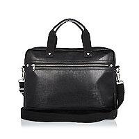 Black sleek work bag