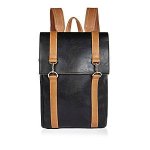 Black sleek backpack