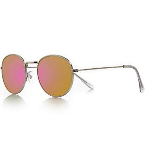 Rose round sunglasses