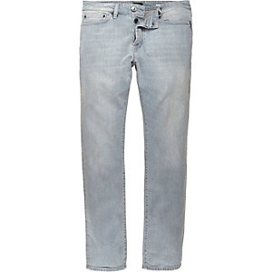 Light grey wash Dylan slim jeans