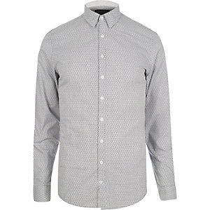 Light grey Vito smart shirt