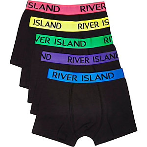 Black and bright trunks pack