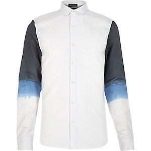 White Antioch dip dye shirt