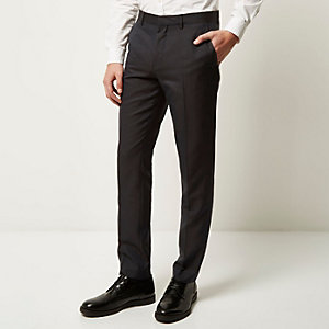 Dark grey smart slim pants