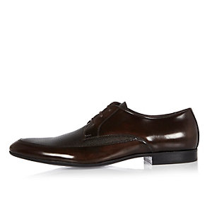Brown Italian leather shoes