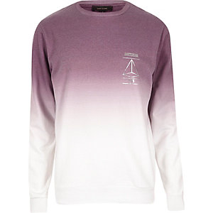 Pink faded Amsterdam sweatshirt