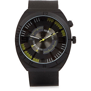 Black Speedster watch