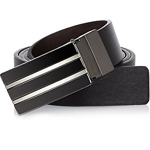 Black smart plate belt