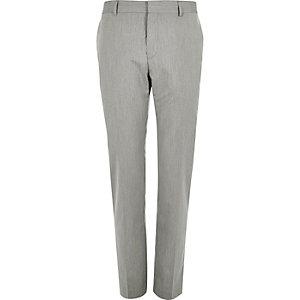 Pantalon de costume gris slim