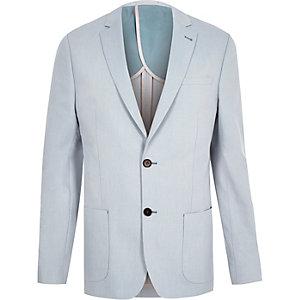 Blue slim fit blazer