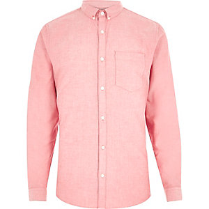 Light red Oxford shirt