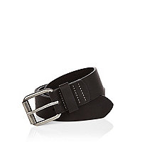 Black basic belt