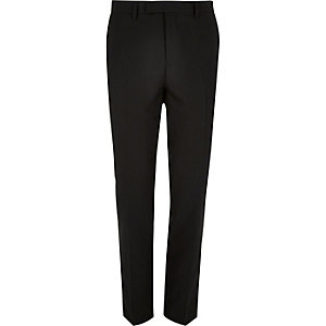 Schwarze Anzughose mit Slim Fit