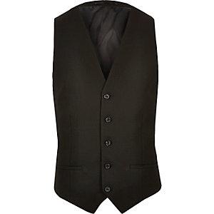Gilet habillé noir