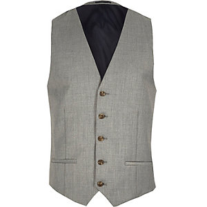 Grey duck tales vest