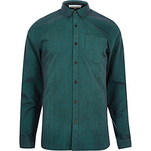 Dark green Oxford shirt