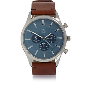 Brown aesthetic dial watch