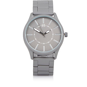 Grey aesthetic dial watch