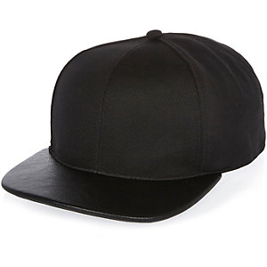 Black perforated cap