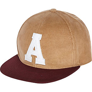 Stone lettered cap