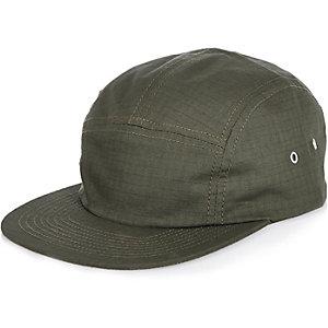 Khaki textured cap