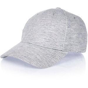 Grey jersey cap