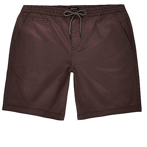 Bermuda-Shorts in Lila