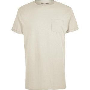 Ecru pocket t-shirt