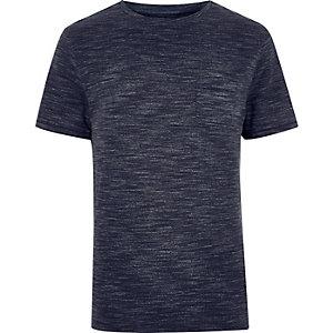 Navy marl t-shirt