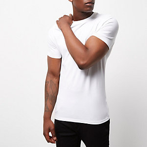 Plain t shirts basic white black coloured t shirts for Who makes the best white t shirts