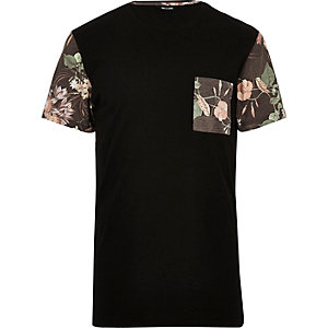 Black Only & Sons longline t-shirt