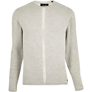 Ecru Only & Sons knitted jumper