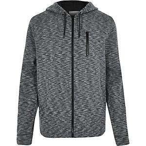 Navy zip hoodie