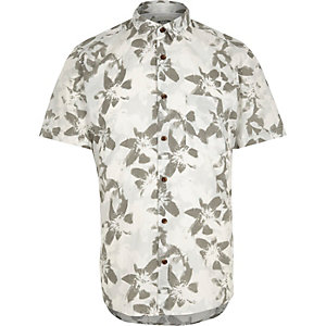 Blue Only & Sons floral print shirt