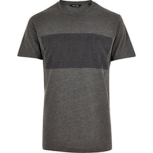 Grey Only & Sons graphic print t-shirt