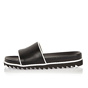 Black pool sliders