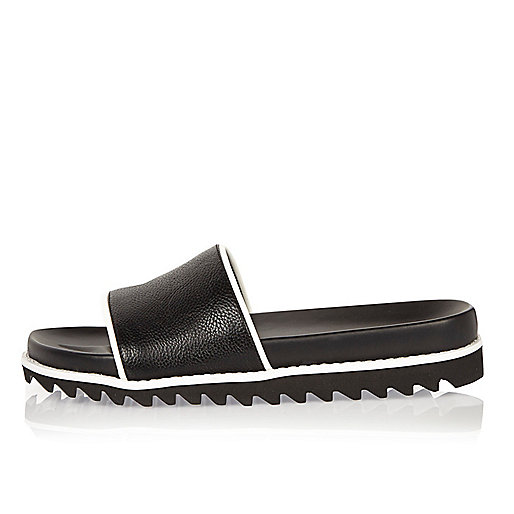 Black pool sliders