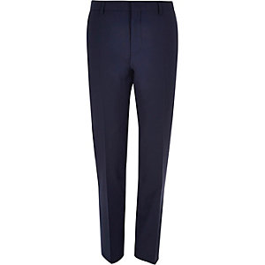 Navy slim Travel Suit pants