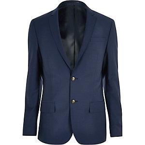 Navy skinny Travel Suit jacket