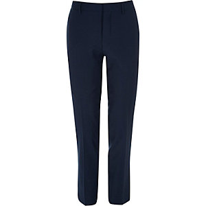 Navy skinny fit Travel Suit pants