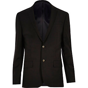 Black skinny Travel Suit jacket
