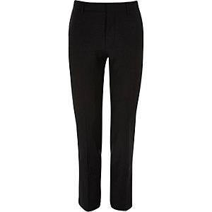 Black skinny fit Travel Suit trousers