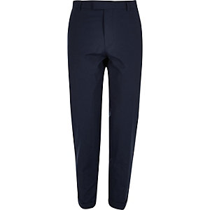 Blue skinny fit pants