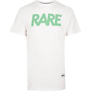 White RAREGOODS brand print t-shirt