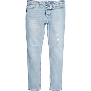 Light blue wash Sid skinny jeans