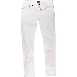 White Jerry skinny jeans