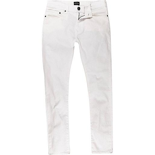 Jean super skinny Danny blanc