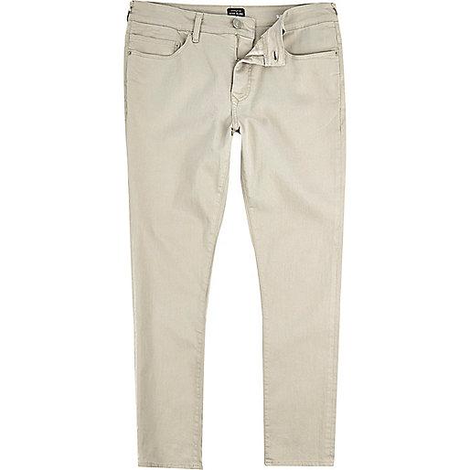 Danny – Hellbraune Super Skinny Jeans