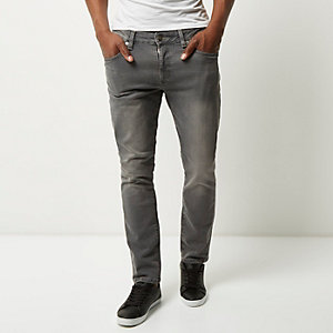 Grey Seth slim fit jeans