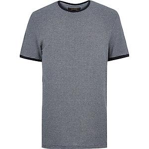 Navy stripe ringer T-shirt